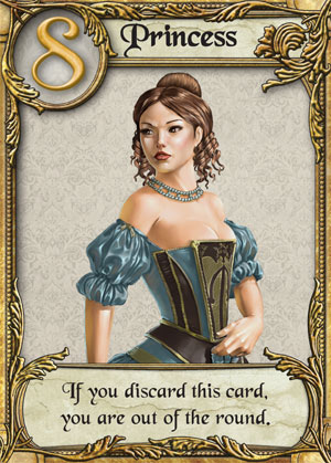 love letter card game matt carlson review of letter the opinionated gamers 13956 | love letter card princess