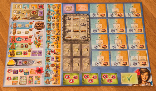 The Player Board - credit: Schaulustiger @ BGG