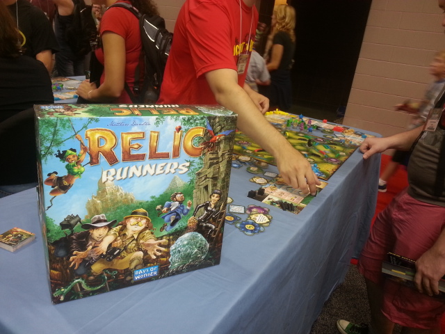 "The only copy of Relic Runners that I could find.  Mark K would not let me pick this up as my ""pre-order"""