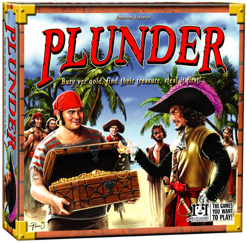 Dale yu essen preview of rr games plunder and for Plunder pictures