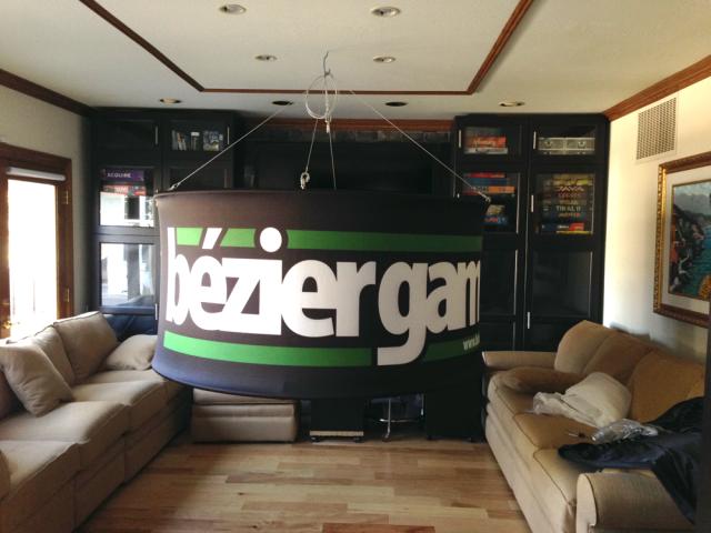Hanging-Sign-in-media-room