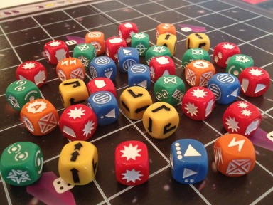space dice