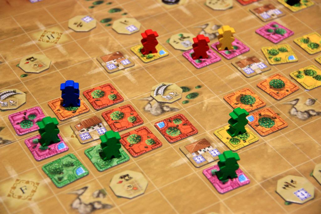 tile based board games