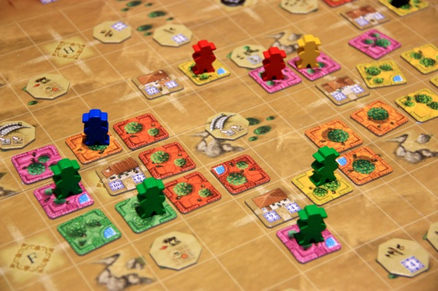 Close up of game in progress - courtesy of henk.rolleman from BGG