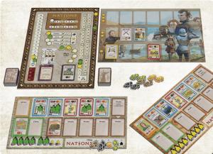 Various Game Components.