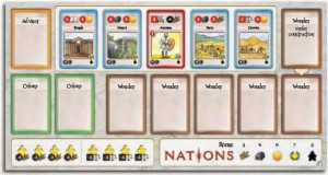 Nations Player Board