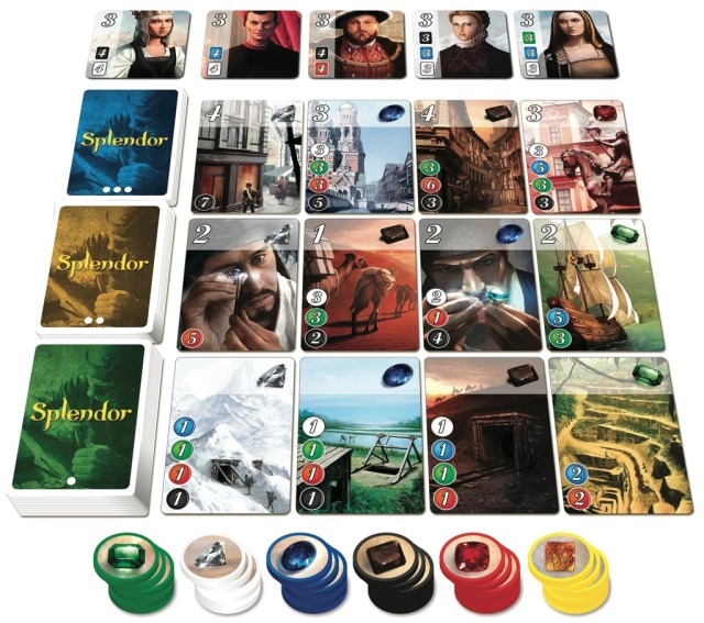 Dale Yu: Review of Splendor | The Opinionated Gamers image