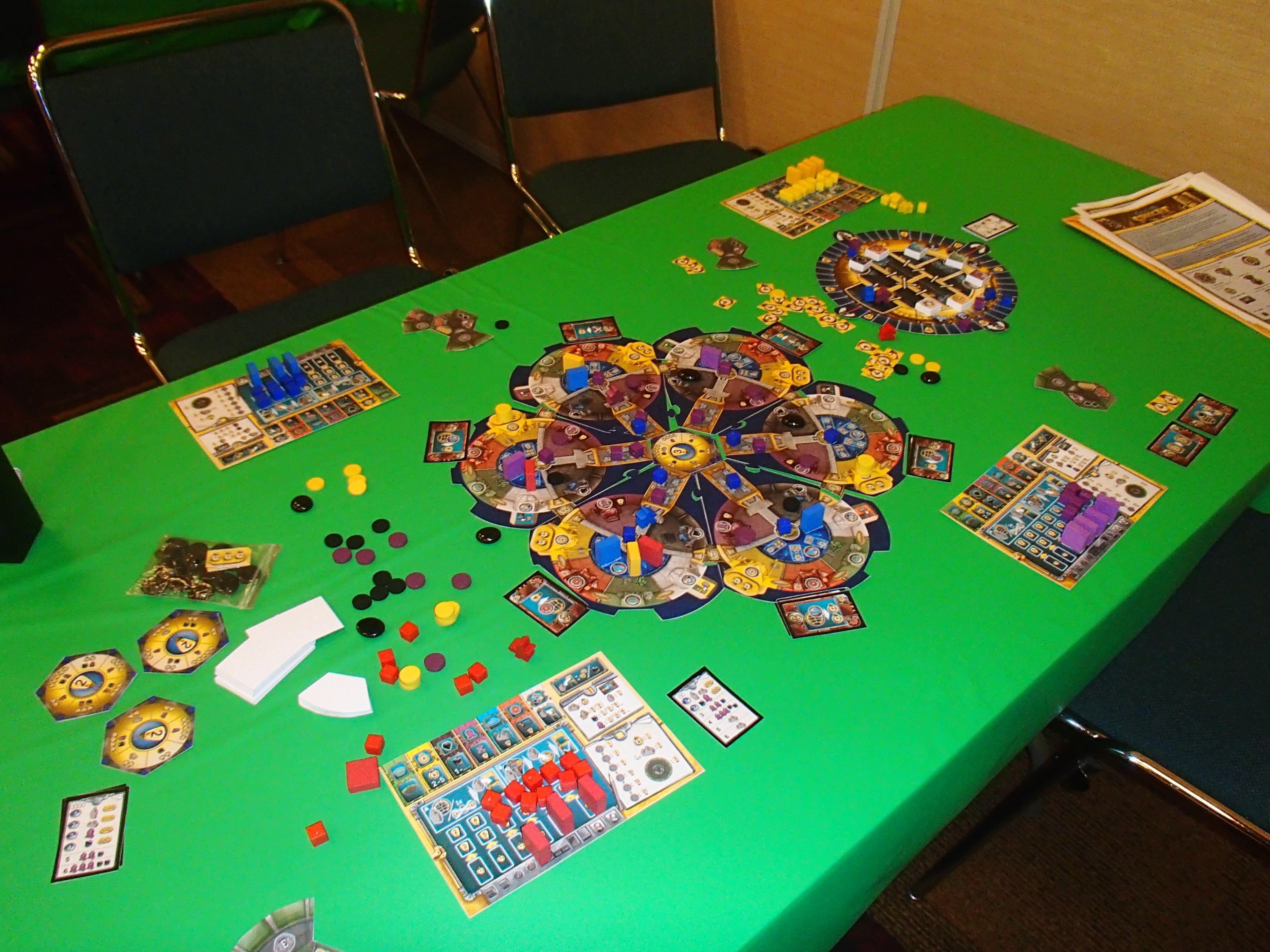 Matt Carlson GenCon Mega Rundown Day One The Opinionated - Digital board game table