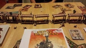 the wonderful 3D train from Colt Express