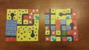 This is admittedly an extreme example, but you better hope you draw tiles like the set on the left as there's pretty much nothing you can do with the tiles on the right to compete.  Even if the left were arranged as suboptimally as possible, it would outscore the most optimal setup on the right by a wide margin