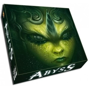 example of the green box cover, one of the 5(!) made for this game