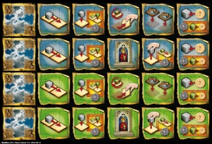 Basilica - powers on tiles