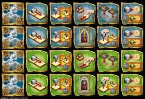 Basilica - powers on tiles