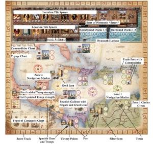 Francis Drake - main board