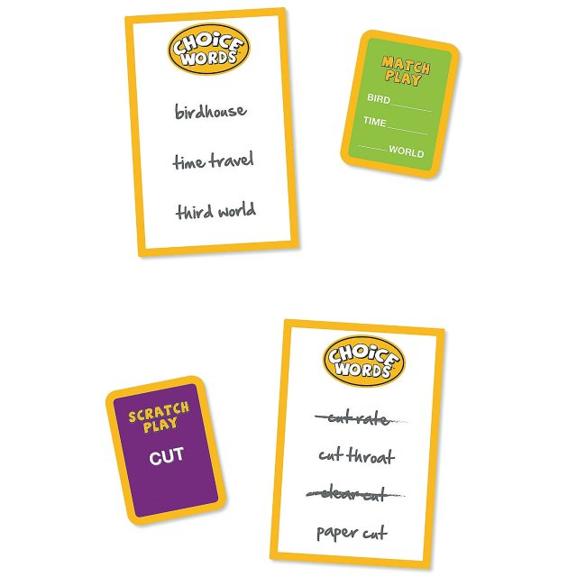 choice words cards