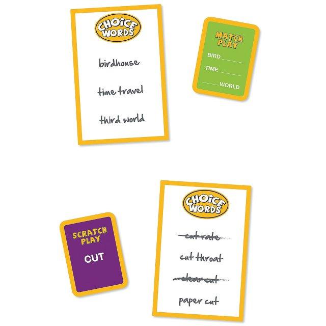 choice words cards