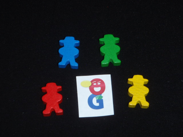 The Gaucho meeples