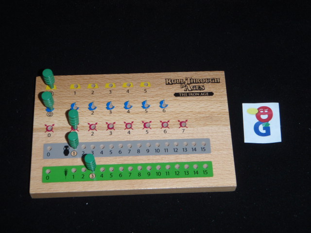 Example of a player board