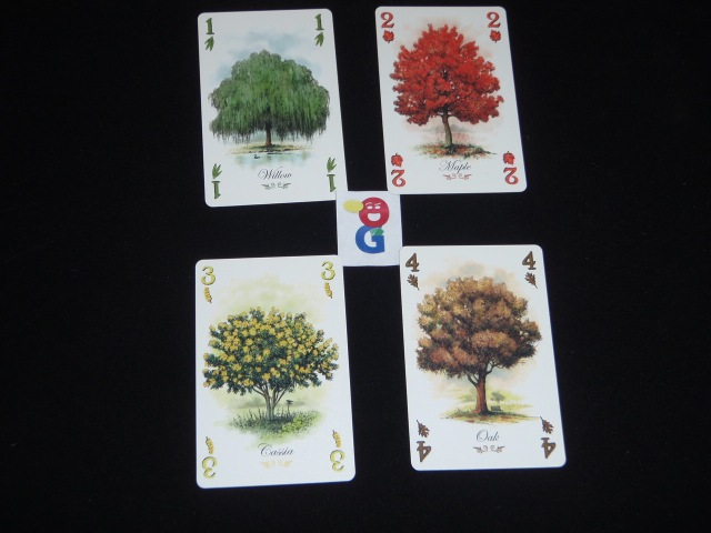 examples of some of the cards