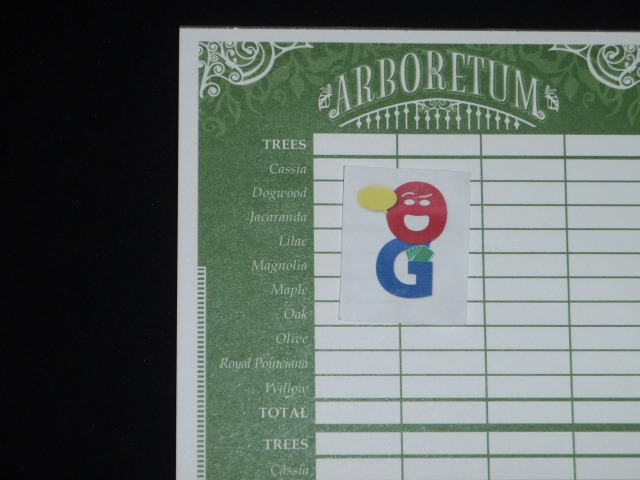 The monochromatic score sheet
