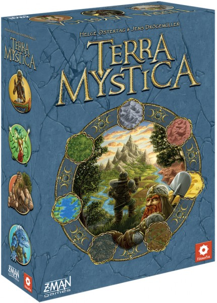 Mary Dimercurio Prasad: Review of Terra Mystica | The Opinionated Gamers image