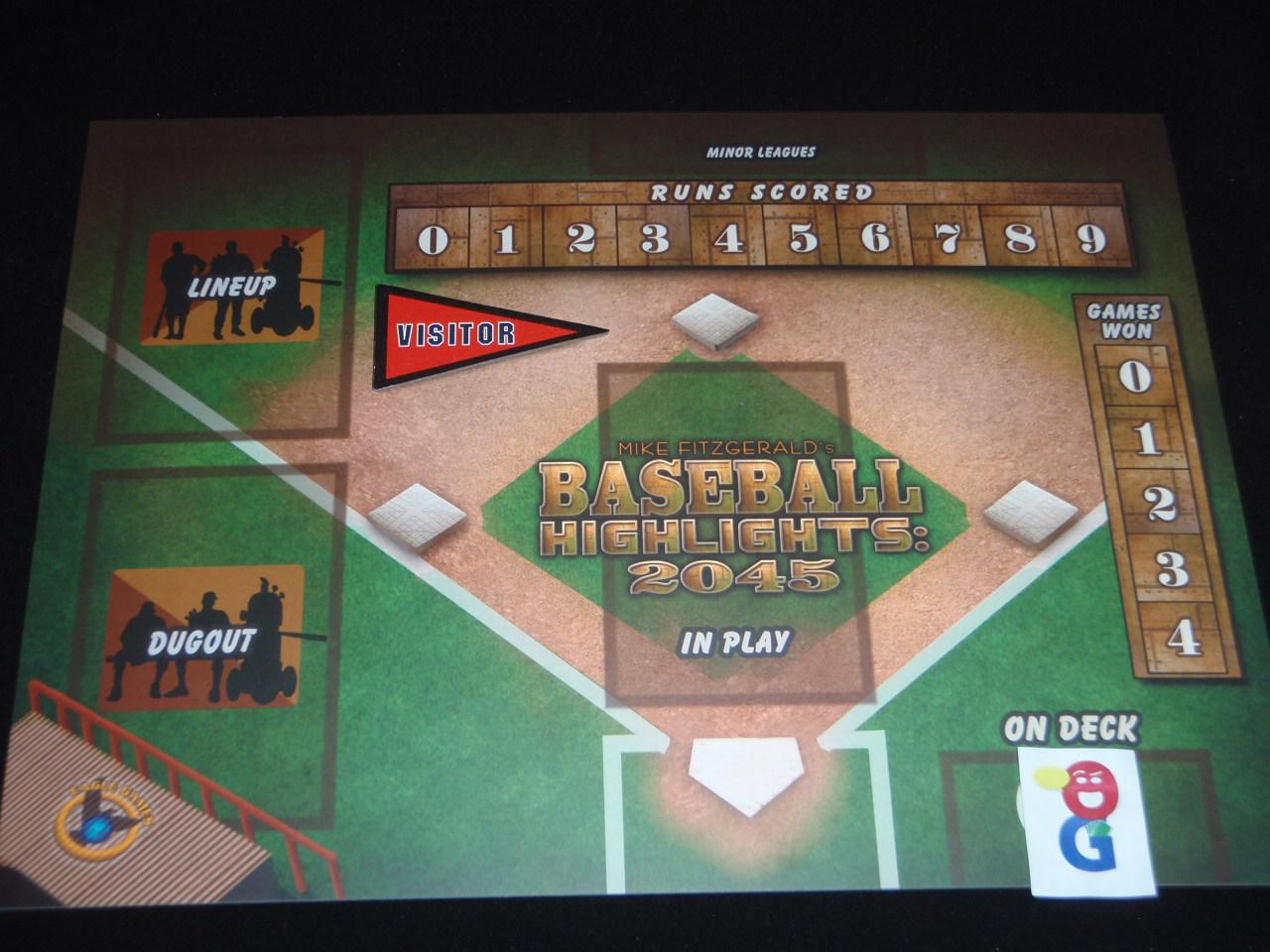 Baseball Highlights 2045 Double Player Mat