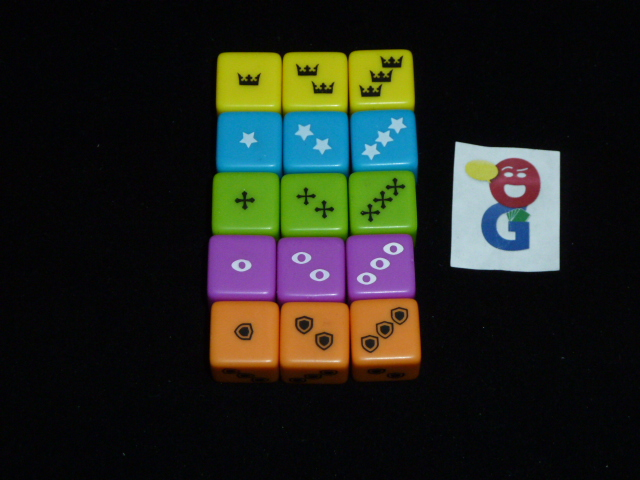 The faction dice
