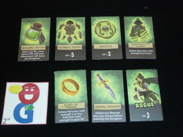 The green Rogue's selection of goods