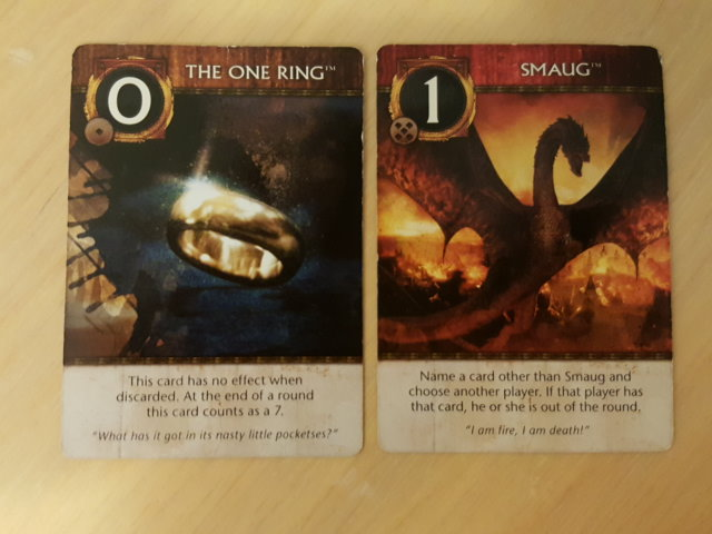 The 0 and 1 cards