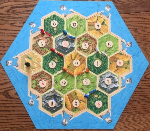Catan Game Board
