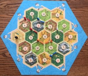 Catan Game Board