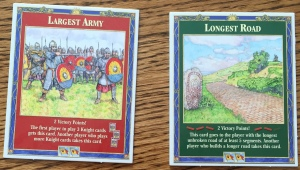 Catan Longest Road and Largest Army