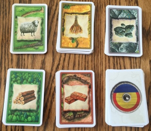 Catan Resource Cards