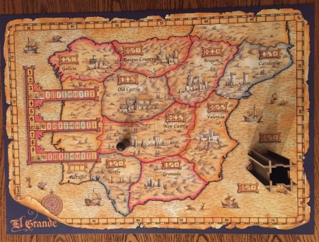 El Grande Game Board