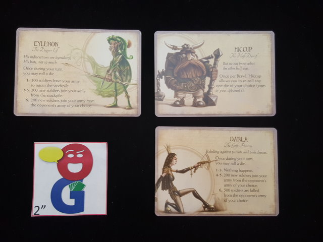 Examples of the nice art on the Companion Cards