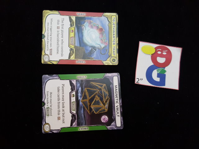 Examples of the flip cards