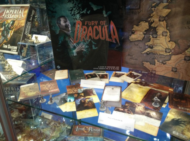 The long awaited reprint of Fury of Dracula.
