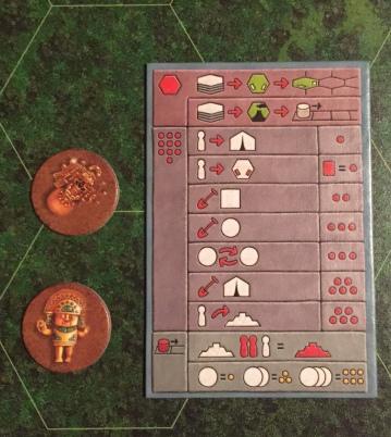 Tikal Player Aid
