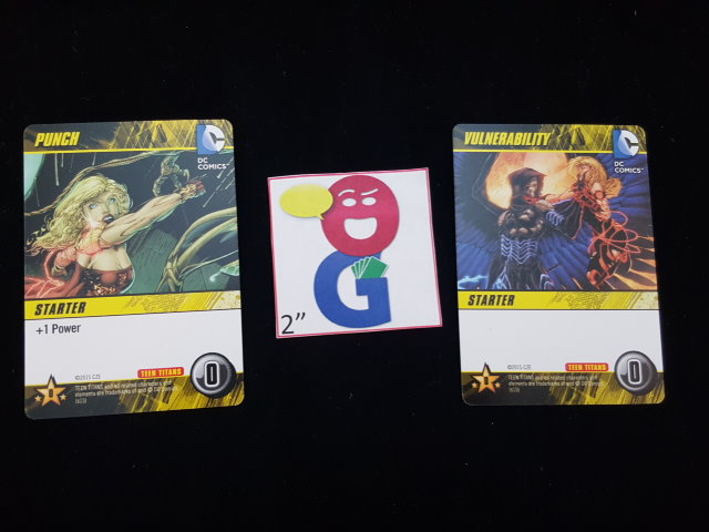 the starting cards