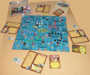 Dwarves Inc board and components