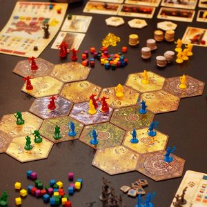 Hyperborea - game in progress