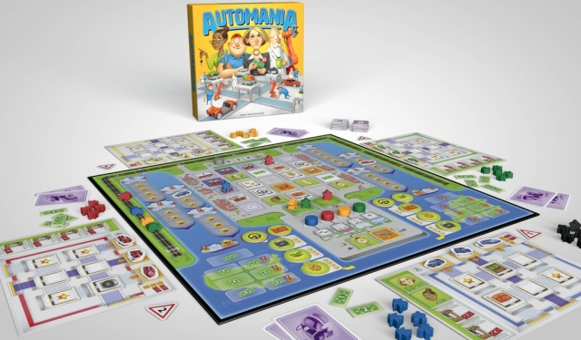 automania set up