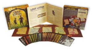 Lost Cities - components