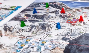 Mt Everest - game in progress