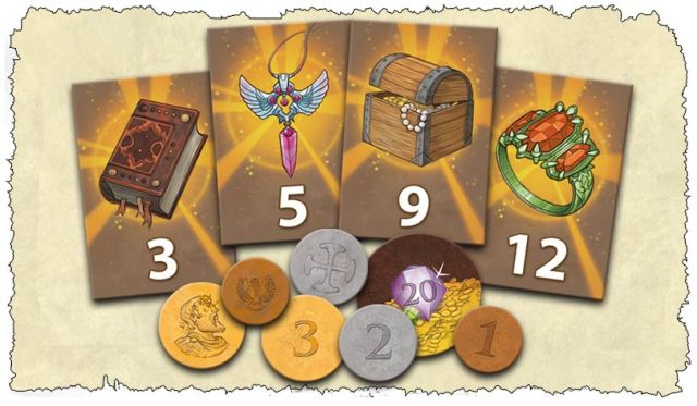 treasure hunters tiles