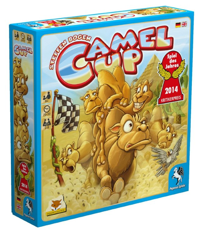 Dale Yu – Camel Up 2018 – Now in 3D! image