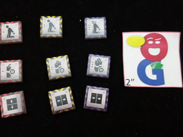 some of the different tokens used
