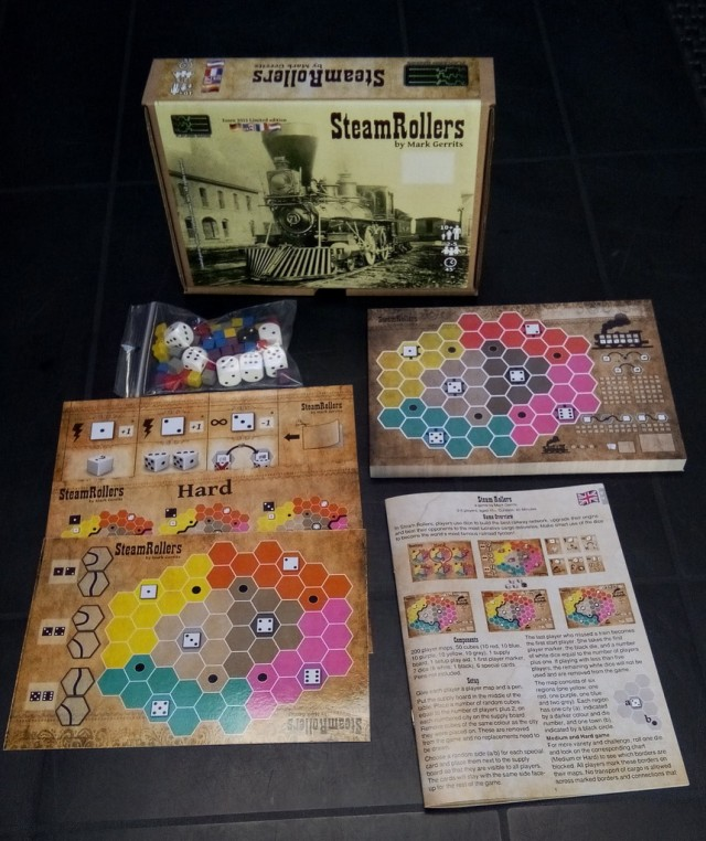 steam rollers contents