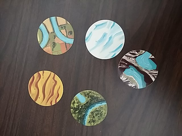 Some of the landscape icons