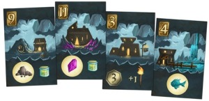 Above and Below - cave cards